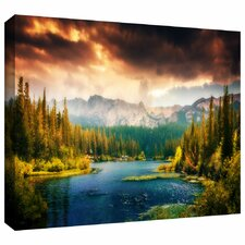 'Mountain View' by Revolver Ocelot Photographic Print on Wrapped Canvas