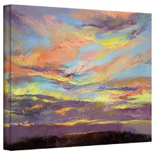 'Atahualpa Sunset' by Michael Creese Painting Print on Wrapped Canvas