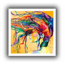 'Windswept' by Linzi Lynn  Painting Print on Canvas