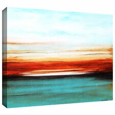 'Sunset' by Jolina Anthony Painting Print on Wrapped Canvas