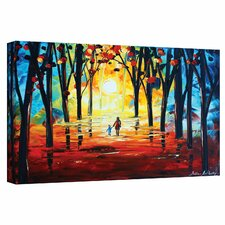 'Adventure Time' by Jolina Anthony Painting Print on Wrapped Canvas