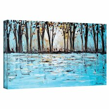 """Wonderland"" by Jolina Anthony Painting Print on Wrapped Canvas"