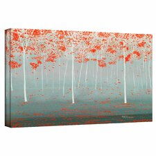 'Dream Forest' by Herb Dickinson Painting Print on Wrapped Canvas