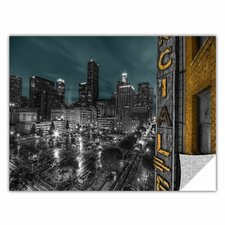 ArtApeelz 'L.A.' by Revolver Ocelot Photographic Print on Wrapped Canvas