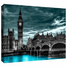 'London' by Revolver Ocelot Photographic Print on Wrapped Canvas