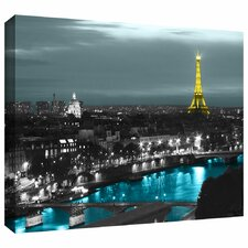 """Paris"" by Revolver Ocelot Graphic Art on Canvas"