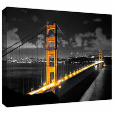 'San Francisco Bridge' by Revolver Ocelot Photographic Print on Wrapped Canvas