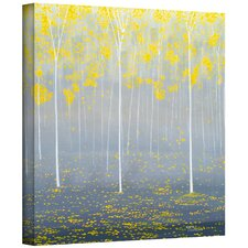 'Verda Forest 2' by Herb Dickinson Graphic Art on Wrapped Canvas