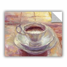 Coffee Cup by Svetlana Novikova Art Appeelz Removable Wall Mural