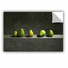Five Pears by Cynthia Decker Art Appeelz Removable Wall Mural