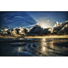 Atlantic Sunrise by Dan Wilson Framed Photographic Print on Wrapped Canvas