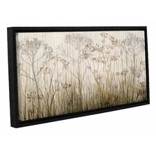 'Wildflowers Ivory' by Cora Niele Framed Graphic Art on Canvas