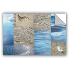 'Sand Sea' by Cora Niele Graphic Art on Canvas