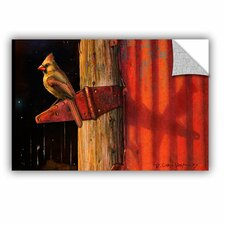 Cardinal by Chris Vest Wall Mural