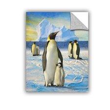 Penguins by Chris Vest Wall Mural