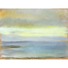 'Marine Sunset' by Edgar Degas Painting Print on Canvas
