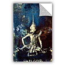 Thai Butterfly Woman Wall Mural