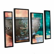 'Wu Xing I' by Elena Ray 4 Piece Framed Photographic Print on Canvas Set