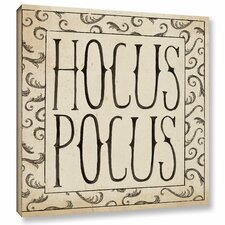 'Hocus Pocus Square II' by Sara Zieve Miller Painting Print on Wrapped Canvas