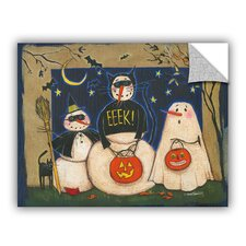 Anne Tavoletti Seasonal Snowman X Wall Mural