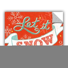 Mary Urban Let It Snow Wall Mural