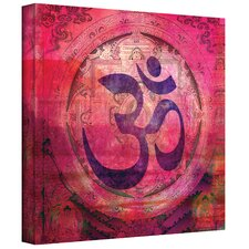 """""""Om Mandala"""" by Elena Ray Graphic Art on Wrapped Canvas"""