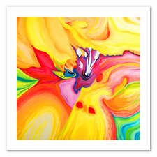 'Secret Life of Lily' by Susi Franco Painting Print