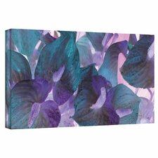 'Blue Dream' by Herb Dickinson Print of Painting on Wrapped Canvas