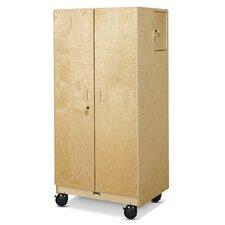 Hideaway Mobile Classroom Cabinet