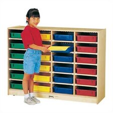 ThriftyKYDZ Paper-Tray 24 Compartment Cubby
