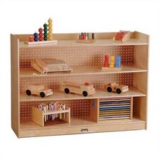 """ThriftyKYDZ 35.5"""" Mobile Bookcase with Lip"""
