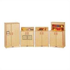 4 Piece Birch Kitchen Set