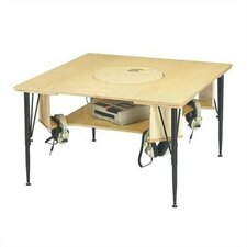 """38.5"""" Square Activity Table"""