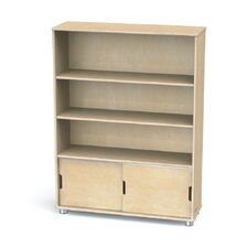 "TrueModern Three-Shelf 48"" Bookcase"