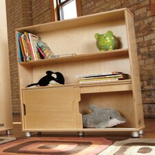 "TrueModern Two-Shelf 36"" Bookcase"