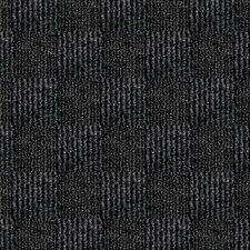 "Smart Transformations 24"" X 24"" Carpet Tile in Black"