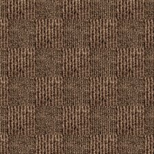 "Smart Transformations 24"" X 24"" Carpet Tile in Chestnut"