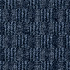 "Smart Transformations 24"" X 24"" Carpet Tile in Ocean Blue"