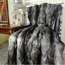 Brandy Fox Faux Acrylic Throw