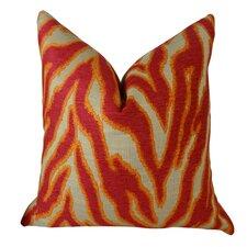 Smooth Move Fuchsia Throw Pillow