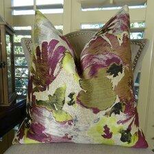Tudor Berry Crush Handmade Throw Pillow