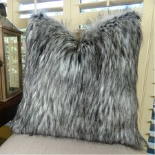 Siberian Husky Handmade Faux Throw Pillow