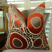 Pomegranate Double Sided Throw Pillow