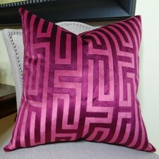 Cesire Maze Double Sided Throw Pillow