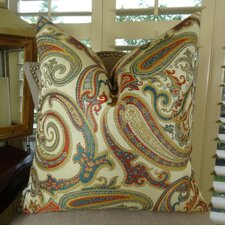 Paisley Cove Double Sided Throw Pillow