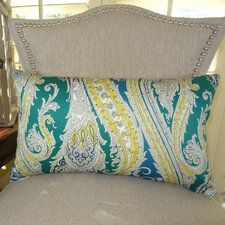 Fun Paisley Lumbar Pillow