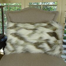 Tibet Fox Handmade Faux Lumbar Pillow