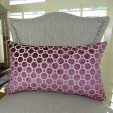 Velvet Geo Handmade Lumbar Pillow