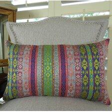 Fuchsia Stripes Lumbar Pillow