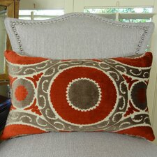 Pomegranate Double Sided Lumbar Pillow